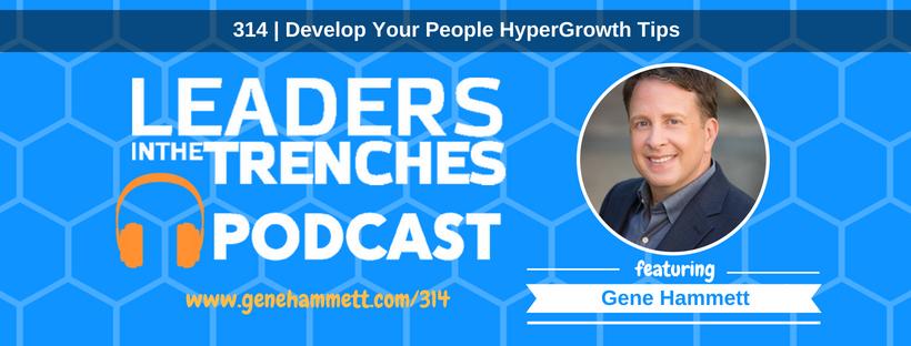 featuring Gene Hammett hypergrowth tips