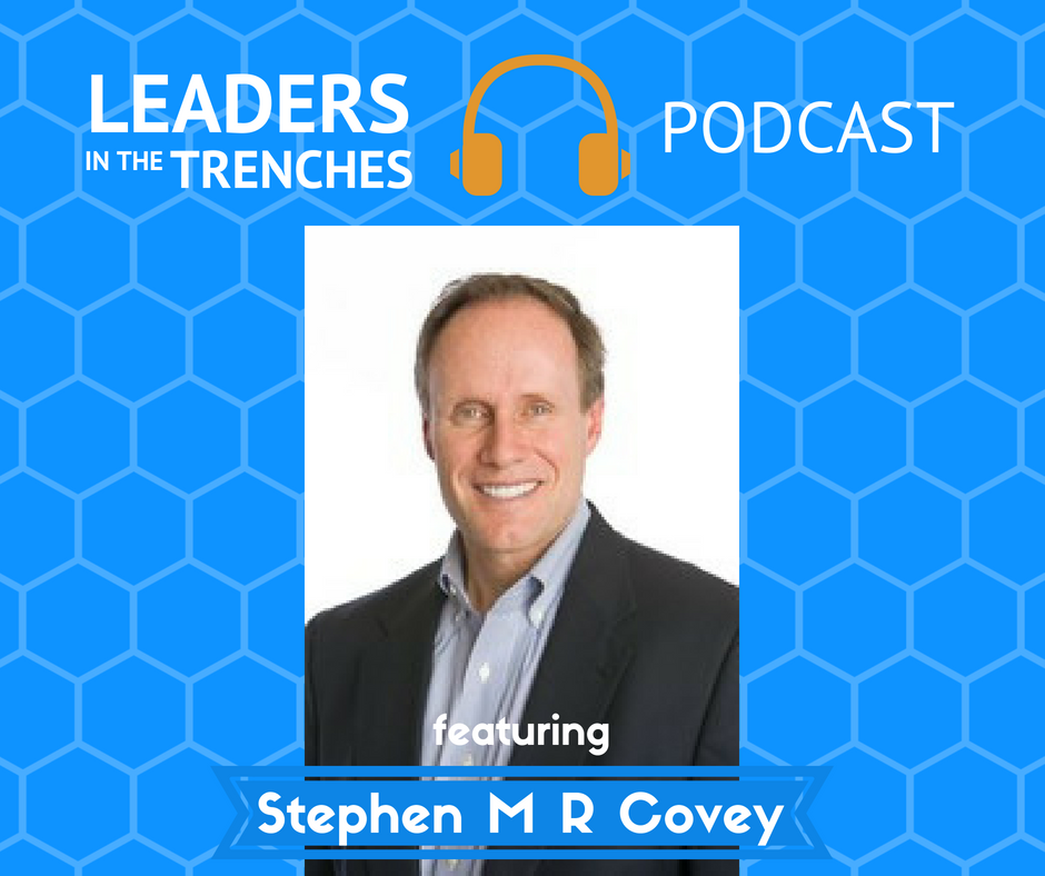 how to regain trust with Dr. Stephen MR Covey