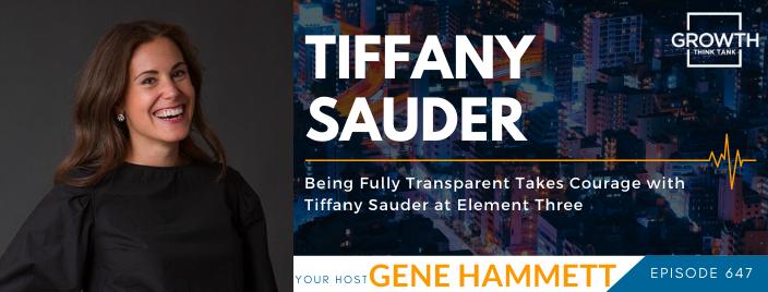 GTT featuring Tiffany Sauder
