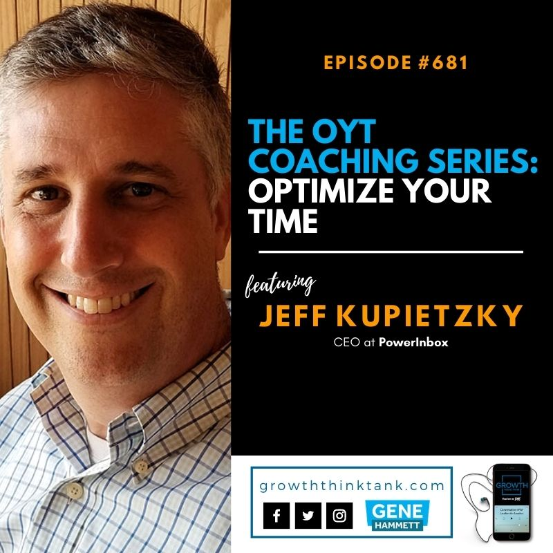 The OYT Coaching Series with Jeff Kupietzky