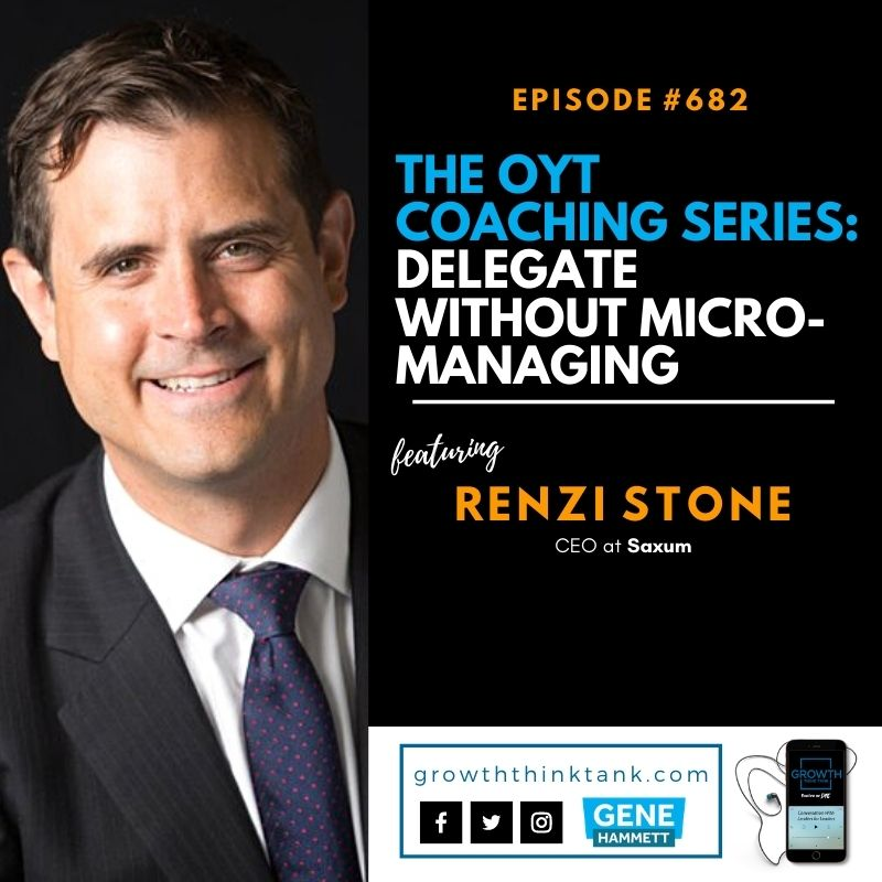 The OYT Coaching Series with Renzi Stone
