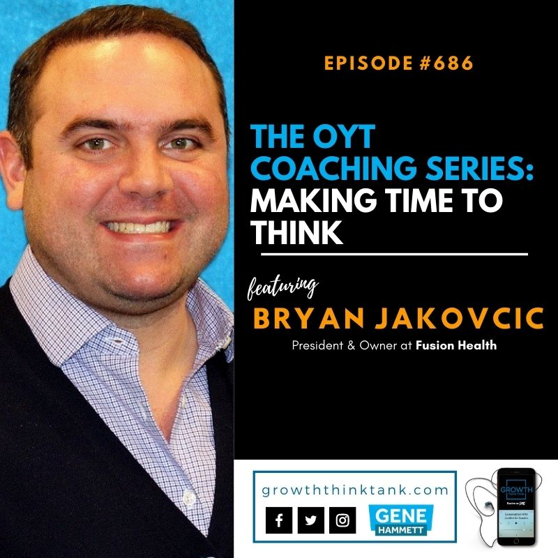The OYT Coaching Series with Bryan Jakovcic