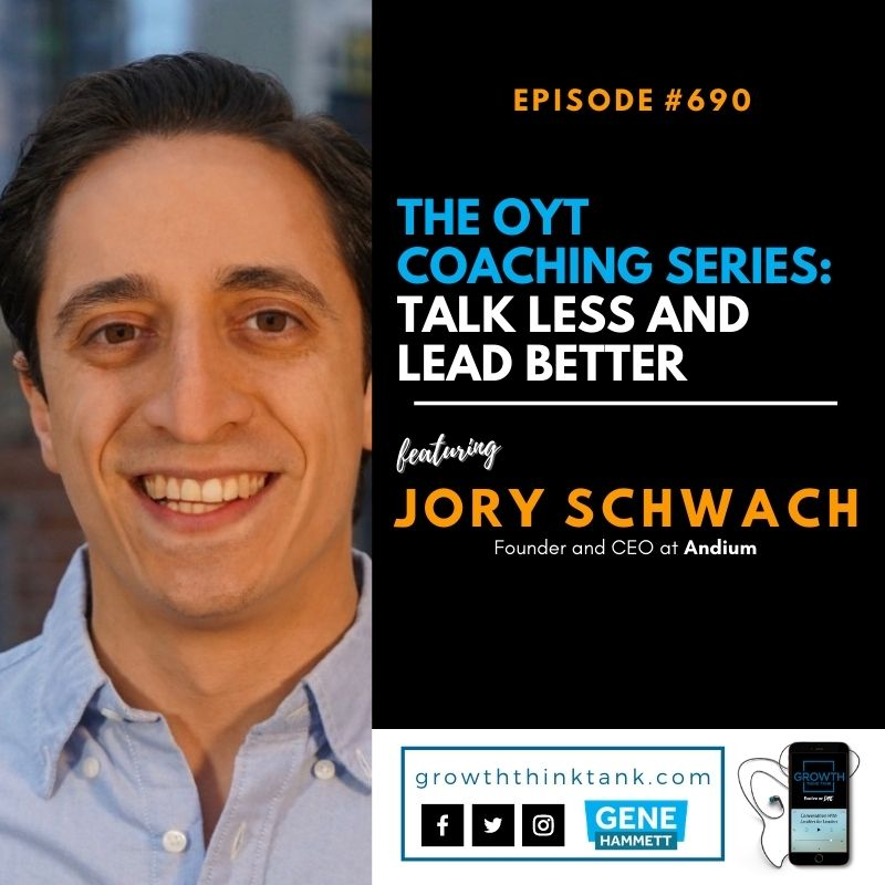 The OYT Coaching Series with Jory Schwach