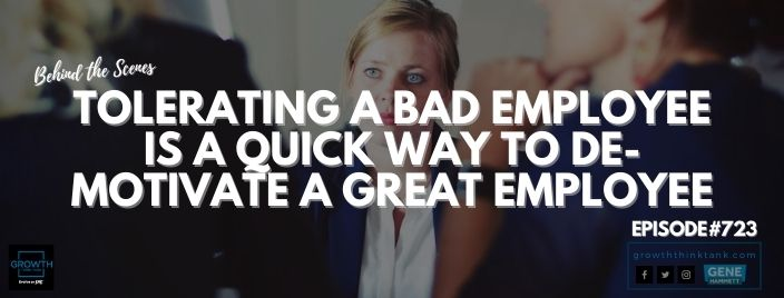 Tolerating a Bad Employee