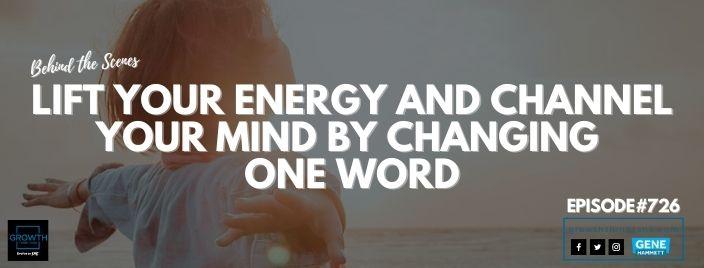 lift your energy